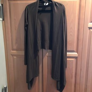 NWOT BCBG draped cardigan